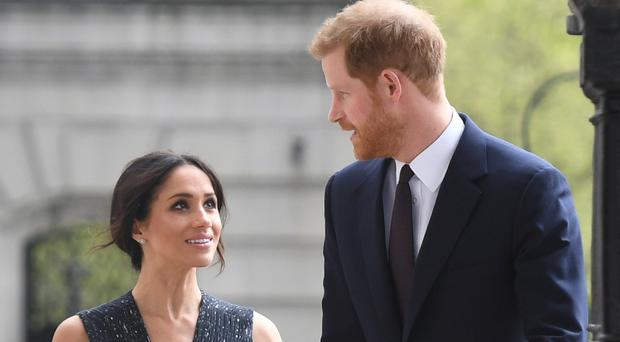 Prince Harry and Meghan Markle will attend Anzac Day Commemorations. (Victoria Jones/PA)