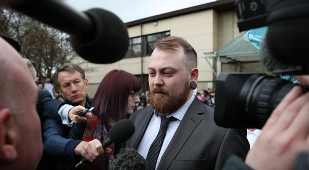 Mark Meechan is raising funds to appeal against his conviction (Andrew Milligan/PA)