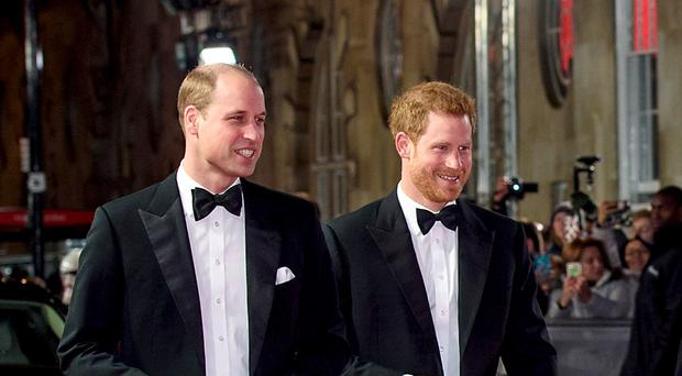 The Duke of Cambridge will be brother Prince's Harry's Best Man at his wedding (Matt Crossick/PA)