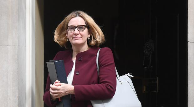 Home Secretary Amber Rudd is facing calls to resign (Victoria Jones/PA)