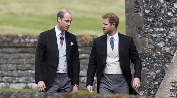 The Duke of Cambridge has said he is honoured to be chosen by brother Prince Harry as his best man. (Arthur Edwards/The Sun)