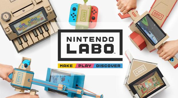 A Variety set which costs £60 and a large Robot kit priced at £70 are the first to go on sale in the UK (Nintendo)