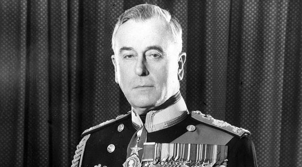 Earl Mountbatten of Burma, whose first name was Louis (PA)