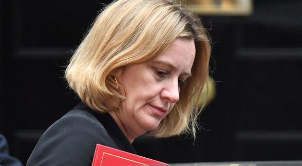 Home Secretary Amber Rudd has faced calls to resign over the scandal (Dominic Lipinski/PA)
