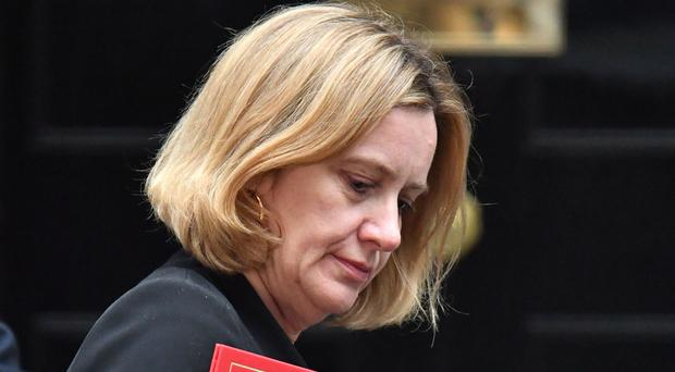 Amber Rudd is facing new calls to resign over claims she misled Parliament (Dominic Lipinski/PA)