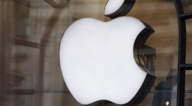 Apple's reported revenue for the quarter was up 16% on the same time a year ago (Yui Mok/PA)