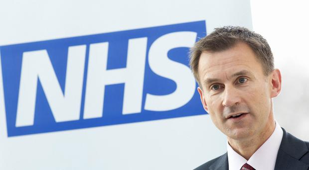 Jeremy Hunt is to make a statement in the Commons (Neil Hall/PA)