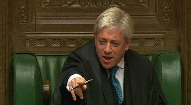 Commons Speaker John Bercow is facing bullying allegations (PA)