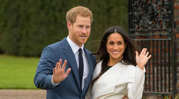 Planes have been banned from flying over the chapel where Prince Harry and Meghan Markle will marry on May 19 (Dominic Lipinski/PA)