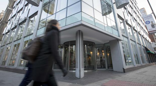 The offices where Cambridge Analytica were based in central London (Rick Findler/PA)