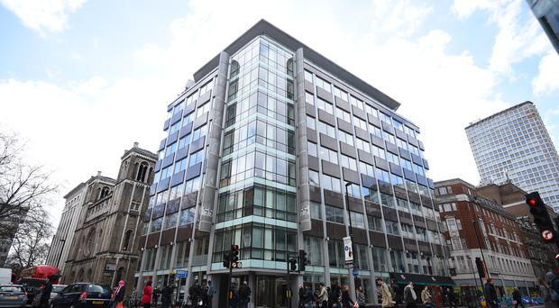 The Cambridge Analytica offices in central London (Kirsty O'Connor/PA)