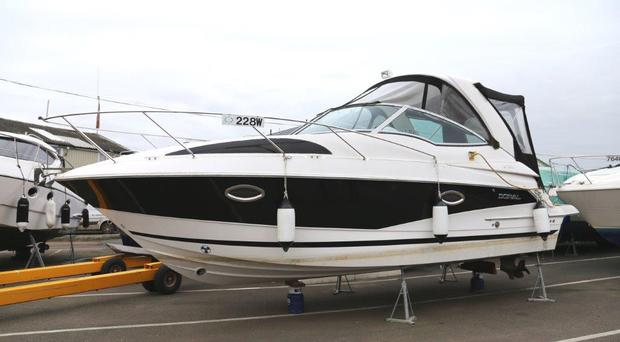 Police seized a £45,000 boat bought by Taylor and Taylor Associates (Eastern Region Special Operations Unit/PA)