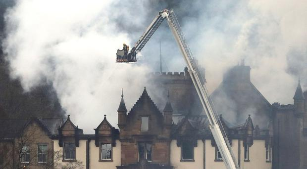 Cameron House hotel is to reopen in 2019 following December's fatal fire (Andrew Milligan/PA)