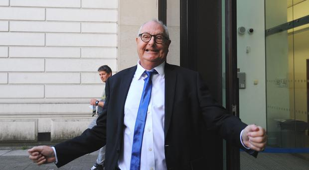 Ex-DJ Jonathan King, has denied sexual abuse allegations (Lauren Hurley/PA)
