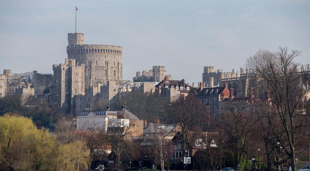 Windsor Castle is the setting for Prince Harry and Meghan Markle's wedding. (Steve Parsons/PA)