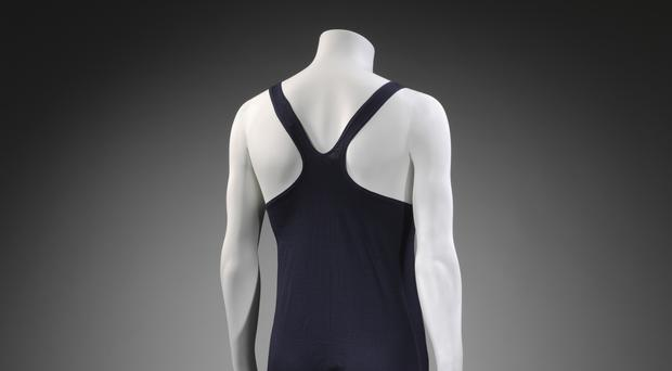 The Speedo racerback design swimsuit. (Victoria and Albert Museum, London/PA)