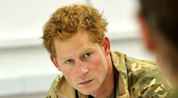 Prince Harry has been prepared for married life by his career in the military, a former army chief has said (John Stillwell/PA)