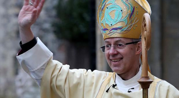 The Archbishop of Canterbury Justin Welby will officiate the highly anticipated ceremony on May 19 (PA)