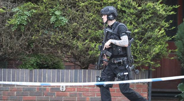 Armed stand off in Ocford