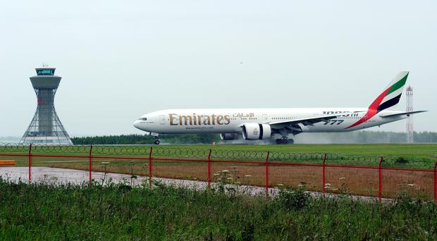Emirates new route