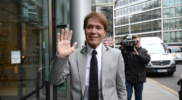 Sir Cliff Richard is suing the BBC following coverage of a police raid on his home in Berkshire in August 2014 (Kirsty O'Connor/PA)