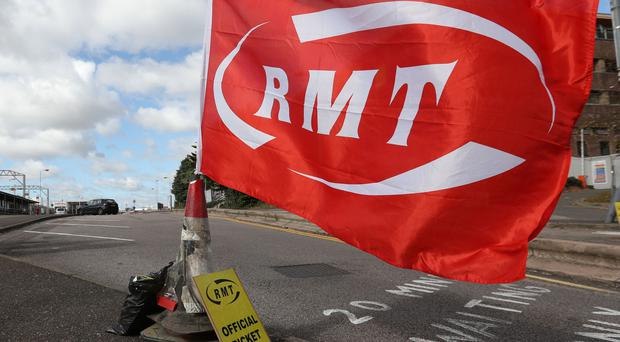 More rail strikes are planned in the guards dispute (Jonathan Brady/PA)
