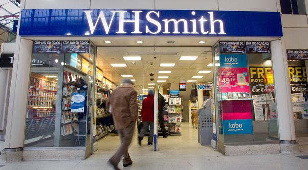 WH Smith has outlets at 129 hospitals across the country (Philip Toscano/PA)