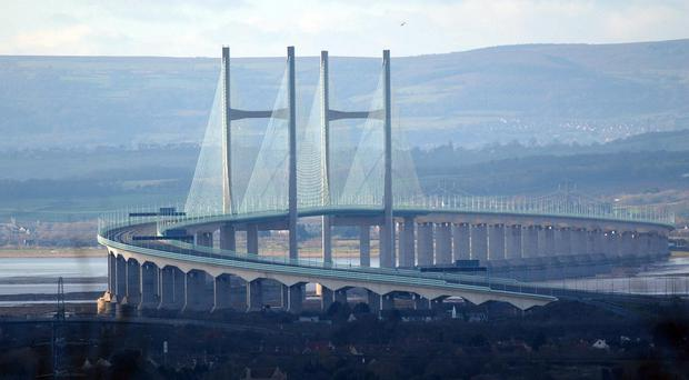 The Second Severn Crossing (Barry Batchelor/PA)