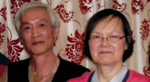Chun Yau Leung and his wife Hang Yin Leung, who was murdered at her home (Channel 4/PA)