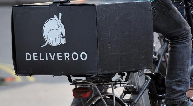 Deliveroo is to hand out £10 million stock options to staff (Nick Ansell/PA)