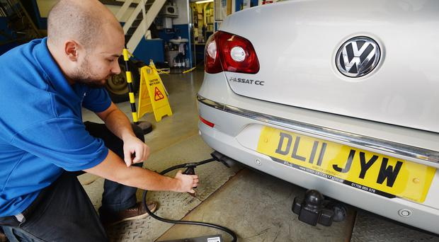New MOT rules come into force on Sunday (John Stillwell/PA)