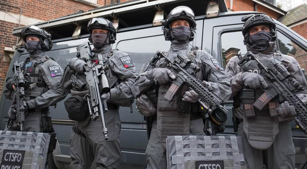 The number of elite counter-terrorist specialist firearms officers has been boosted in the face of the terror threat (Stefan Rousseau/PA)