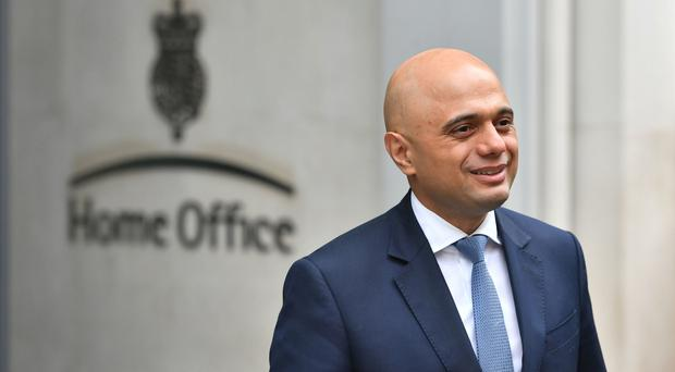 Home Secretary Sajid Javid is seeking reassurances over the rights of UK nationals in the EU (Dominic Lipinski/PA)