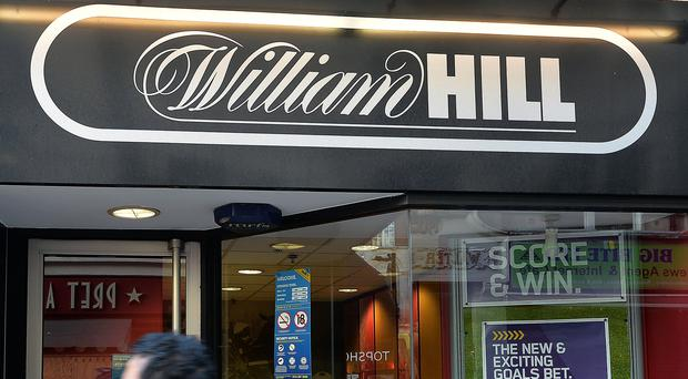 William Hill said around 900 of its betting shops could become loss-making after the new £2 limit comes into force (John Stillwell/PA)
