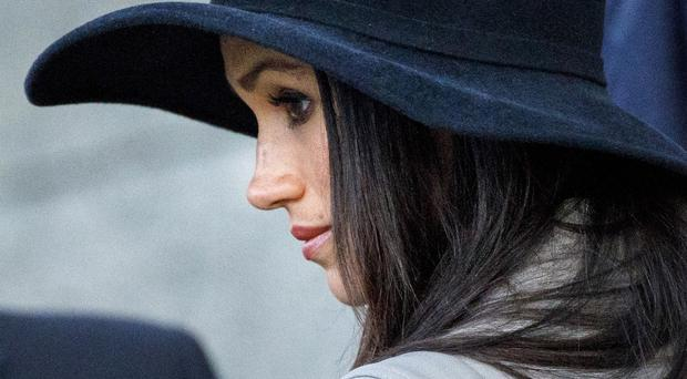 Meghan Markle's father will miss her wedding (PA)