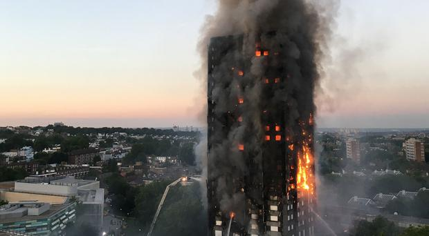 The Grenfell Tower fire caused the deaths of 71 people (Natalie Oxford/PA)