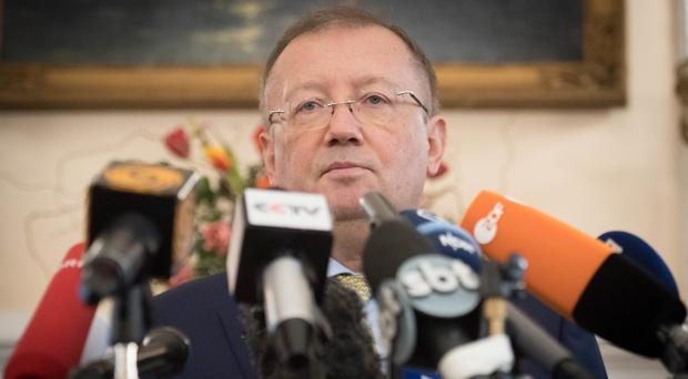 Russian ambassador to the UK Alexander Yakovenko aid Russia is being prevented access to the Skripals (Stefan Rousseau/PA)
