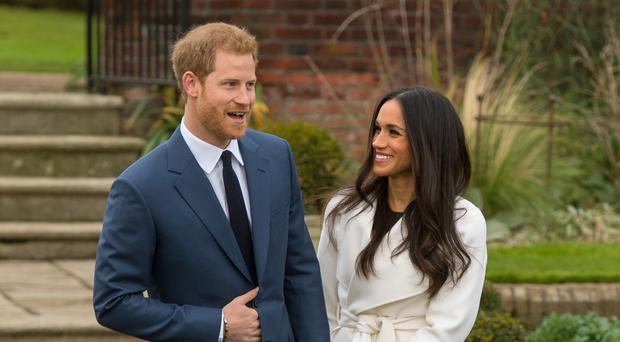 Prince Harry and Meghan Markle will marry at midday in Windsor (Dominic Lipinksi/PA)