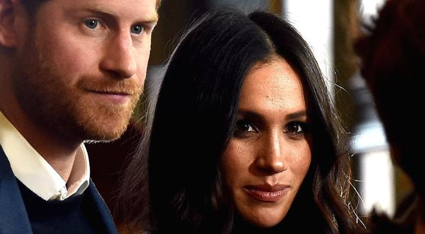 Prince Harry and Meghan Markle (Lisa Ferguson/The Scotsman/PA)