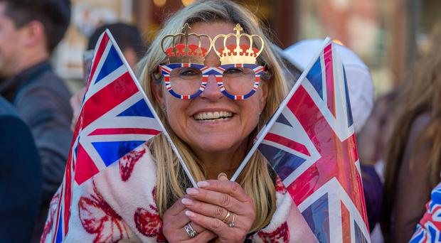 Izzy Newman from Windsor ahead of the wedding (James Hardisty/PA)