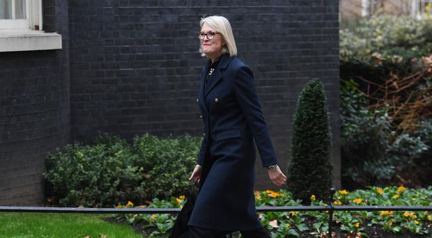 Margot James (Stefan Rousseau/PA)
