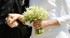 The bouquet included many symbolic flowers (PA)