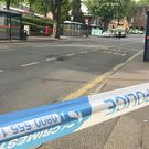 Police activity in Sutton Coldfield where a 16-year-old was found with stab wounds and later died (Phil Barnett/PA)