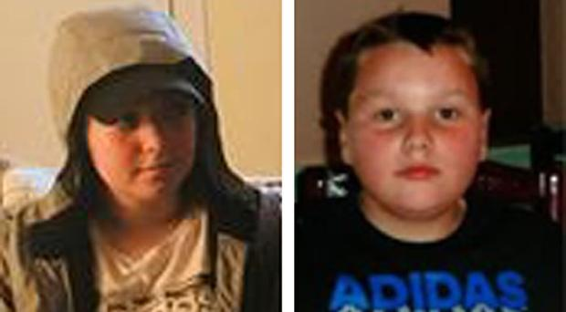 Olivia Bryson (left), 14, and 12 year old Leon Williamson (Police Scotland/PA)
