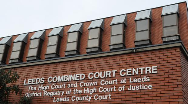 The case was heard at Leeds Crown Court (Anna Gowthorpe/PA)