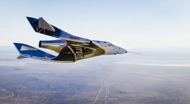 One small step: Virgin Spaceship Unity (Virgin Galactic/PA)