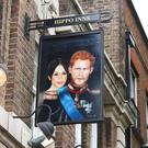 The Duke of Sussex pub in Waterloo has a new image on their swing sign (Duke of Sussex/PA)