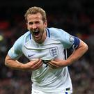 England captain Harry Kane (Adam Davy/PA)