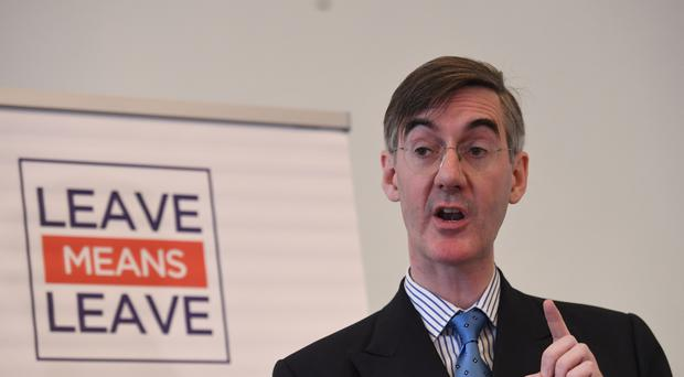 Jacob Rees-Mogg says Theresa May has made an error (Stefan Rousseau/PA)