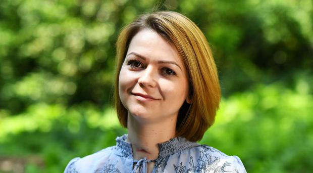 Yulia Skripal and her former Russian spy father Sergei Skripal, were poisoned by a nerve agent (Dylan Martinez/PA)
